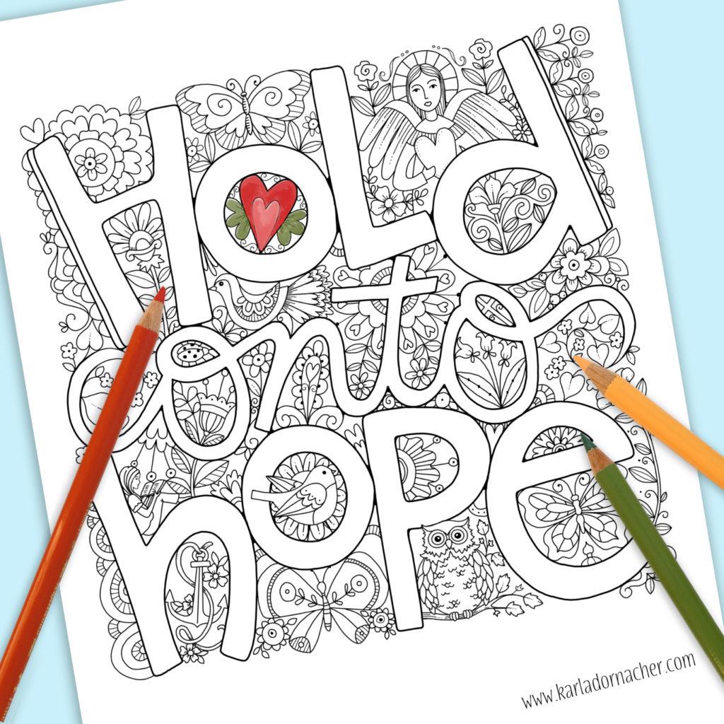 Make a joyful noise Coloring Page - Twisty Noodle | 1024x1024